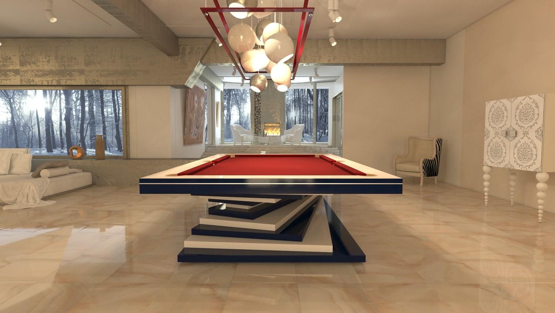 Billiard Table Ziggurat Mbm Biliardimbm Biliardi