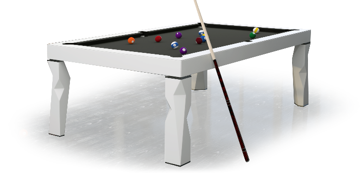 From The Idea Of Innovation And Future Which Today Make This City One Of  The Biggest Economic Powers Born The Billiard Table Made From Elements Of  Solid ...