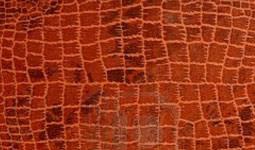 finiture vera pelle stampata cocco cartier